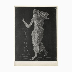 Plaster Engraved by Georges Braque, 1952