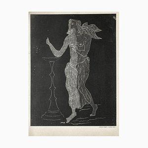 Yeso grabado de Georges Braque, 1952