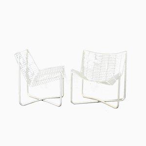 Chaises d'appoint Métalliques par Niels Gammergar pour Ikea, 1983, Set de 2