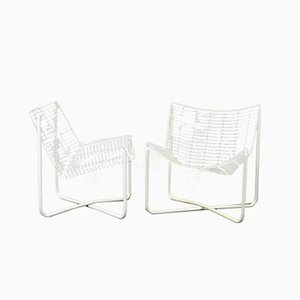 Sedie a rete di Niels Gammergar per Ikea, 1983, set di 2