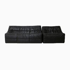 Roset Edition Model Anaïs Sofa and Chair by Michel Ducaroy, France, 1981, Set of 2