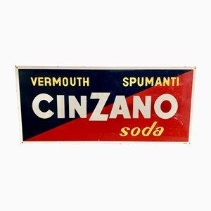 Cartel de Cinzano, años 50