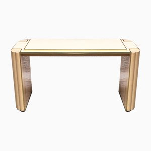 French Lacquered Dining Room Console by Alain Delon for Maison Jansen, 1980s