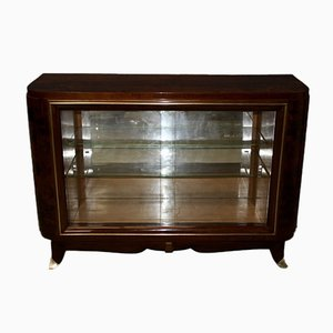 Silversmiths Art Deco Period Walnut Cabinet