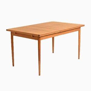 Table de Salle à Manger Scandinave en Chêne par Nils Jonsson pour Hugo Troeds