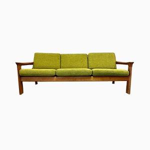 Skandinavisches Khaki Sofa, 1950er