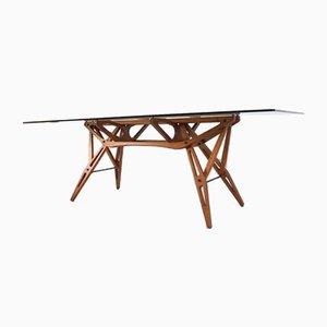 Table de Salle à Manger Vintage par Carlo Mollino pour Zanotta