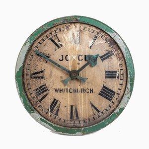 Große Antike Industrielle Turmuhr von Joyce of Whitchurch