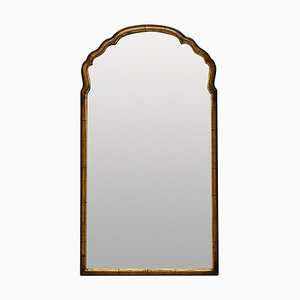 Queen Anne Style Walnut Mirror
