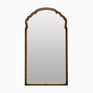 Spiegel im Queen Anne Stil aus Nussholz