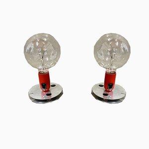 Lámparas, años 60. Juego de 2