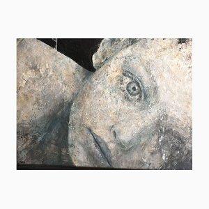 Domani - Moderno - Pittura italiana - Olio e smalto su legno - Loris Lombardo