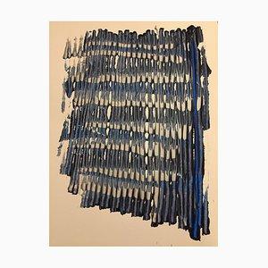 Zeitgenössische Französische Kunstelemente fragwürdig, Jeremiah Revourgeard, Acryl auf Papier