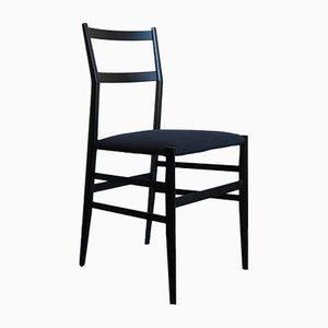 Italienische Superleggera Design Stühle von Gio Ponti für Cassina, 1960er, 4er Set