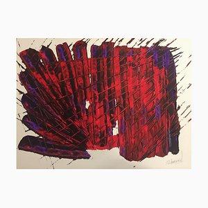 Französische Contemporary Art, Trace Cabrio von Jérémie Revourgeard