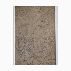 Lápiz sobre papel, después de Sebastiano Ricci, principios del siglo XVIII