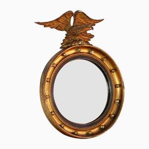 Englischer Regency Convex Spiegel