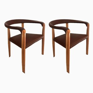 Vintage Miss Chairs by Tobia & Afra Scarpa for Molteni, Set of 2