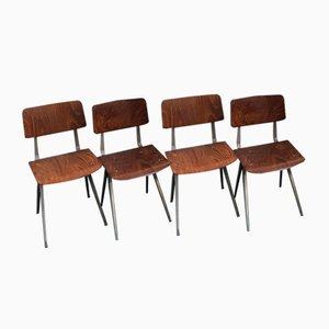 Vintage Chairs by Friso Kramer for Ahrend De Cirkel, Set of 4