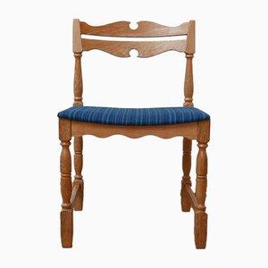 Mid-Century Danish Oak Dining Chairs, Set of 6