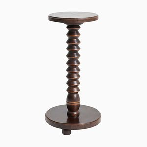 Oak Side Table in the style of Charles Dudouyt