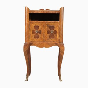 Genoese 4-Leaf Clover Bedside Table, 20th Century