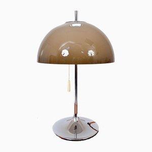 Dänische Space Age Schreibtisch- oder Tischlampe aus Chrom von Frank J Bentler für WILA