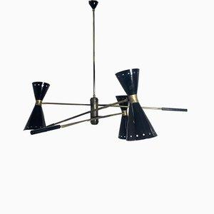Lámpara de techo vintage con brazos giratorios