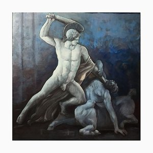 Warrior - Oil on Canvas