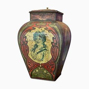 Collectible Art Nouveau Lidded Box, 1920s