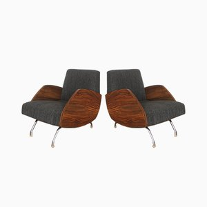 Armchair by Janusz Rozanski, 1960s, Set of 2