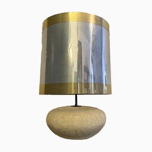 Lampe aus Stein, 1970er