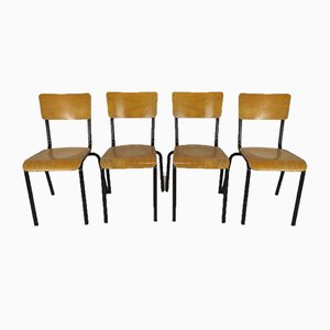 Industrial Chairs, Set of 4
