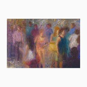 Renato Criscuolo, Capri, óleo sobre lienzo