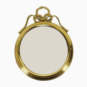 Polierter Spiegel aus Messing