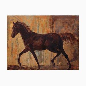 Cheval - Peinture - Huile sur Toile - Italie - Alfonso Pragliola