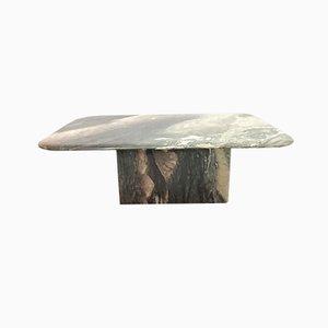 Tavolino da caffè rettangolare in marmo, anni '70