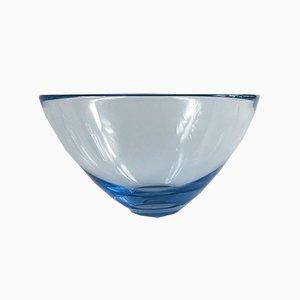 Cuenco Holmegaard de vidrio de Per Lütken, Denmark, años 60