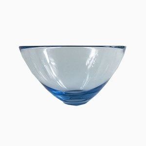 Holmegaard Glass Bowl by Per Lütken, Denmark, 1960s