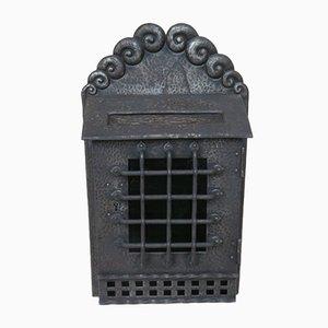 Art Nouveau Handmade Wrought Iron Mailbox