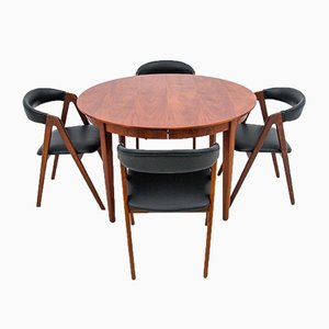 Danish Dining Set, 1960, Set of 5