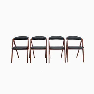 Dänische Stühle, 1960er, 4er Set