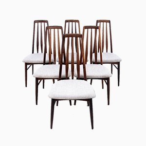 Dining Chairs from Niels Koefoed Denmark, 1960s, Set of 6