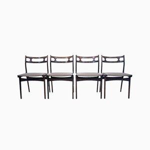 Danish Set of Chairs, 1960s