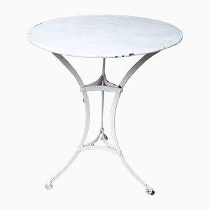 Antique Garden Pedestal Table