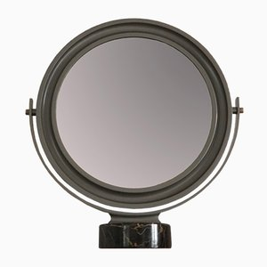 Mirror with Black Marble Base by Sergio Mazza for Artemide