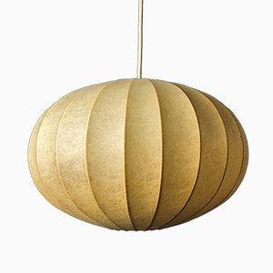 Mid-Century Italian Cocoon Pendant Lamp in the Style of Achille Castiglioni, 1960s