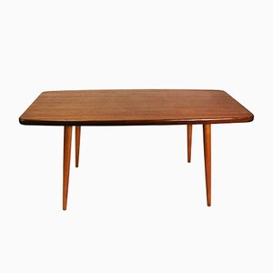 Swedish Modernist Teak Table from Broderna-Miller, 1960s