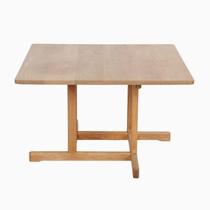 Model 5271 Solid Oak Coffee Table by Børge Mogensen for Fredericia