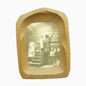 Cornice per foto in palissandro antroposofico di Fritz Schuy, anni '20